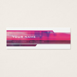 MINI BUSINESS CARD :: slick 2