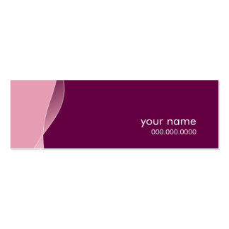MINI BUSINESS CARD :: swishes 6