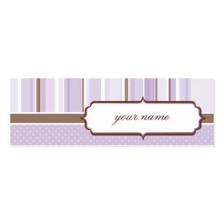 MINI BUSINESS CARD :: vintage 1