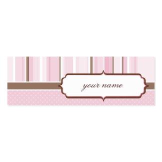 MINI BUSINESS CARD :: vintage 4