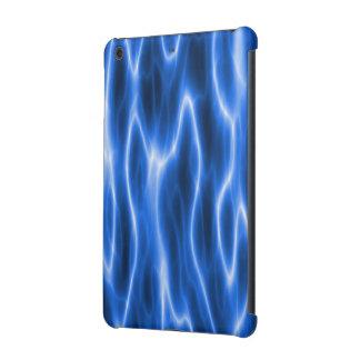 Mini caja de la retina del iPad eléctrico azul