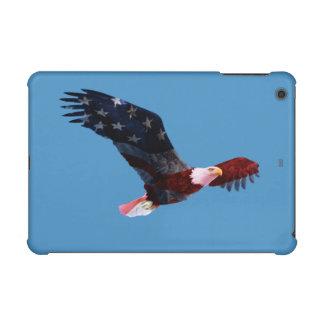 Mini caja de la retina del iPad patriótico de Eagl