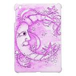 Mini caja del cojín rosado de la luna i iPad mini cárcasas