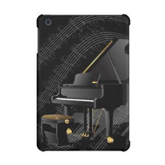 Mini caja del piano del iPad del caso de la retina