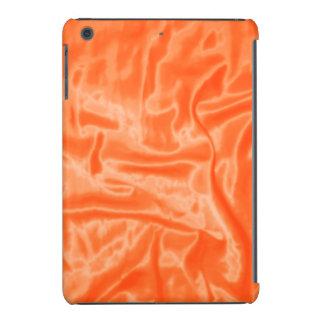 Mini caja del Satén-iPad anaranjado Fundas De iPad Mini Retina