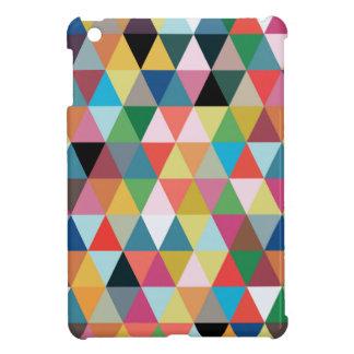 Mini caja modelada geométrica colorida del iPad