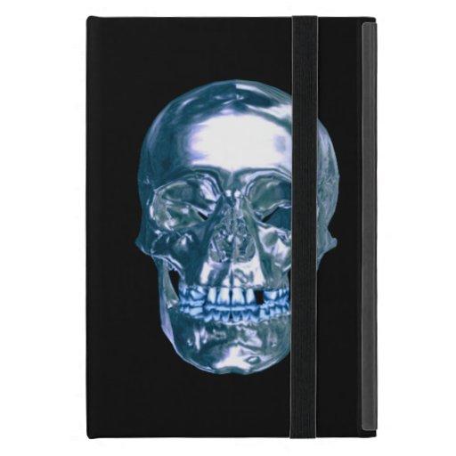 Mini caja personalizada del cromo del iPad azul de iPad Mini Cárcasas