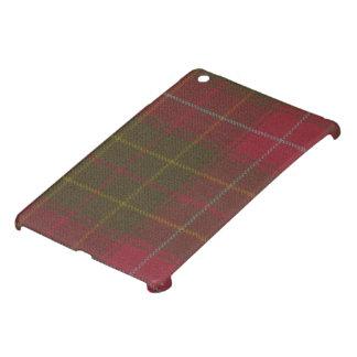 MINI caja resistida Burnett del tartán del iPad