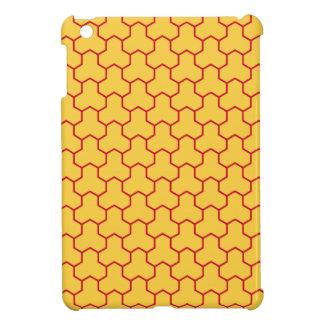 Mini caja tejada Tri Maleficio amarillo del cojín