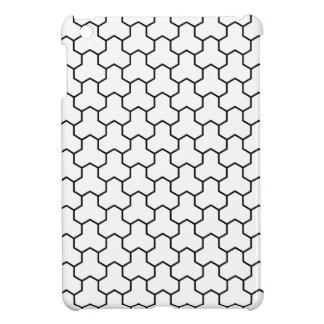 Mini caja tejada Tri Maleficio blanco del cojín