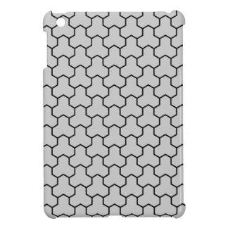 Mini caja tejada Tri Maleficio gris claro del