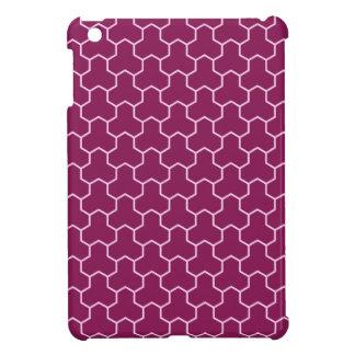 Mini caja tejada Tri Maleficio púrpura oscuro del
