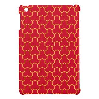 Mini caja tejada Tri Maleficio rojo del cojín