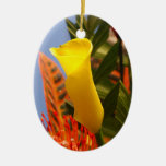 mini cala amarilla ornamentos de reyes magos