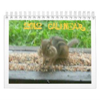 Mini calendario animal 2012