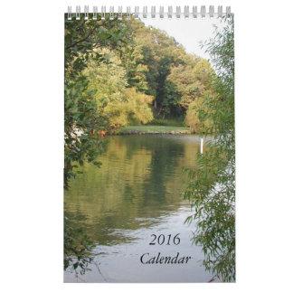 Mini calendario del paisaje escénico 2016 por Janz