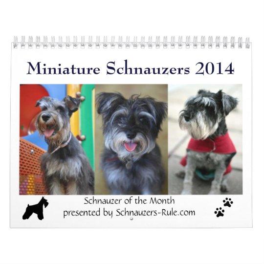 Mini calendario del Schnauzer 2016