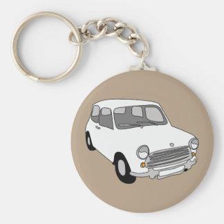 Mini Car Key Ring by Rupert & Poppy Basic Round Button Keychain