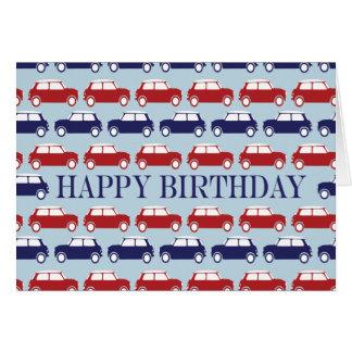 Mini Card Birthday Card