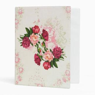 Mini carpeta de los rosas rosados