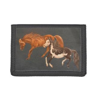 Mini cartera de los caballos