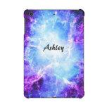 Mini caso 2&3 del iPad listo azul púrpura de