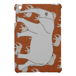 Mini caso brillante del elefante del iPad listo