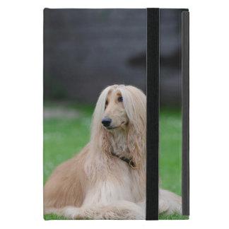 Mini caso de afgano del perro del ipad hermoso de iPad mini cárcasa