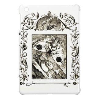 Mini caso de arte del ipad medieval gótico extraño