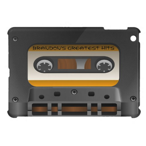 Mini caso de casete audio del iPad de encargo retr iPad Mini Carcasa