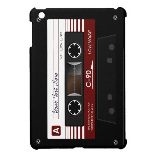 Mini caso de casete del iPad retro audio de la cin
