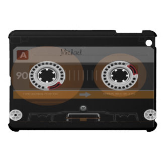 Mini caso de casete del iPad retro de la cinta