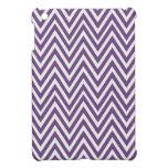 Mini caso de Chevron del iPad púrpura del diseño iPad Mini Cobertura