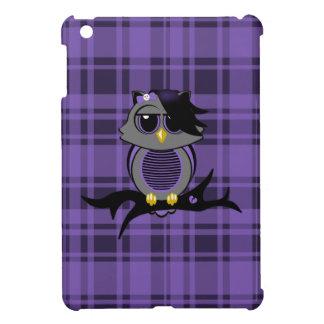 Mini caso de Emo del iPad lindo del búho y de la t iPad Mini Cárcasas