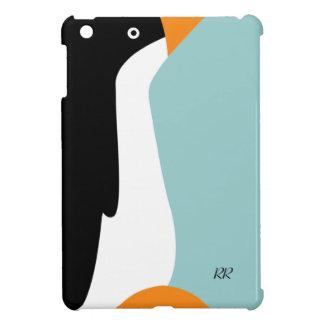 Mini caso de emperador del iPad lindo del pingüino