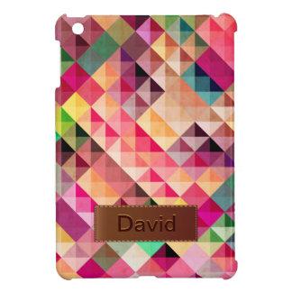 Mini caso de Geo del iPad abstracto colorido de lo iPad Mini Protector