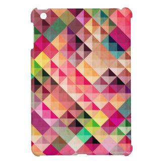 Mini caso de Geo del iPad abstracto vibrante de lo iPad Mini Funda