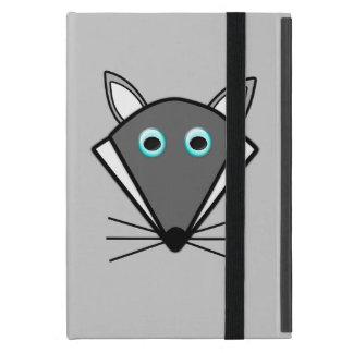 Mini caso de Halloween del iPad lindo del lobo iPad Mini Protector