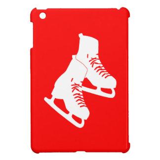 Mini caso de hielo del iPad rojo de los patines