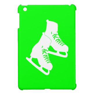 Mini caso de hielo del iPad verde de los patines iPad Mini Funda