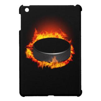 Mini caso de hockey del iPad ardiente del duende m