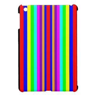 MINI CASO de IPAD - rayas verticales coloreadas iPad Mini Protector
