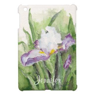 Mini caso de la acuarela del iPad suave del iris