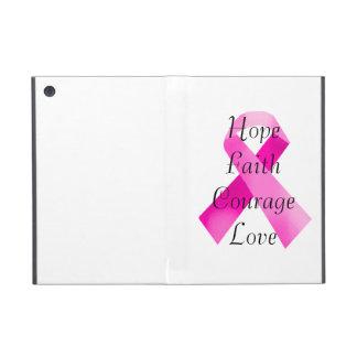 Mini caso de la cinta del iPad rosado de la fe iPad Mini Cárcasa