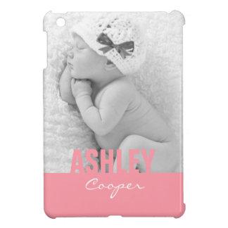 Mini caso de la foto del iPad de encargo del rosa iPad Mini Fundas