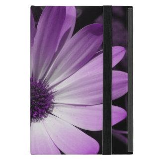 Mini caso de la margarita del iPad púrpura de la iPad Mini Cobertura