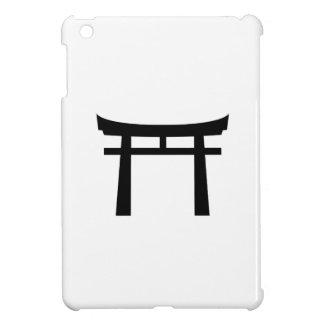 Mini caso de la puerta del iPad sintoísta del pict iPad Mini Funda