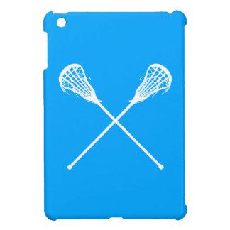 Mini caso de LaCrosse del iPad azul de los palillo