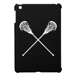 Mini caso de LaCrosse del iPad negro de los palill