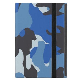 Mini caso de los azules marinos de Camo Powis del iPad Mini Cárcasas
